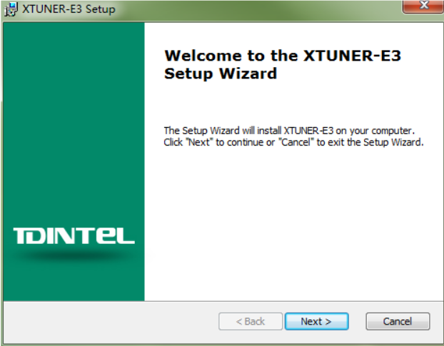 How to Install and Active XTUNER E3 Client (3)