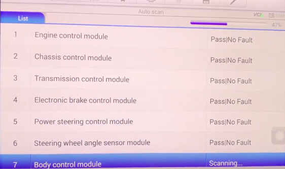 How to Use Autel MaxiSYS Elite to Diagnose Vehicle-9