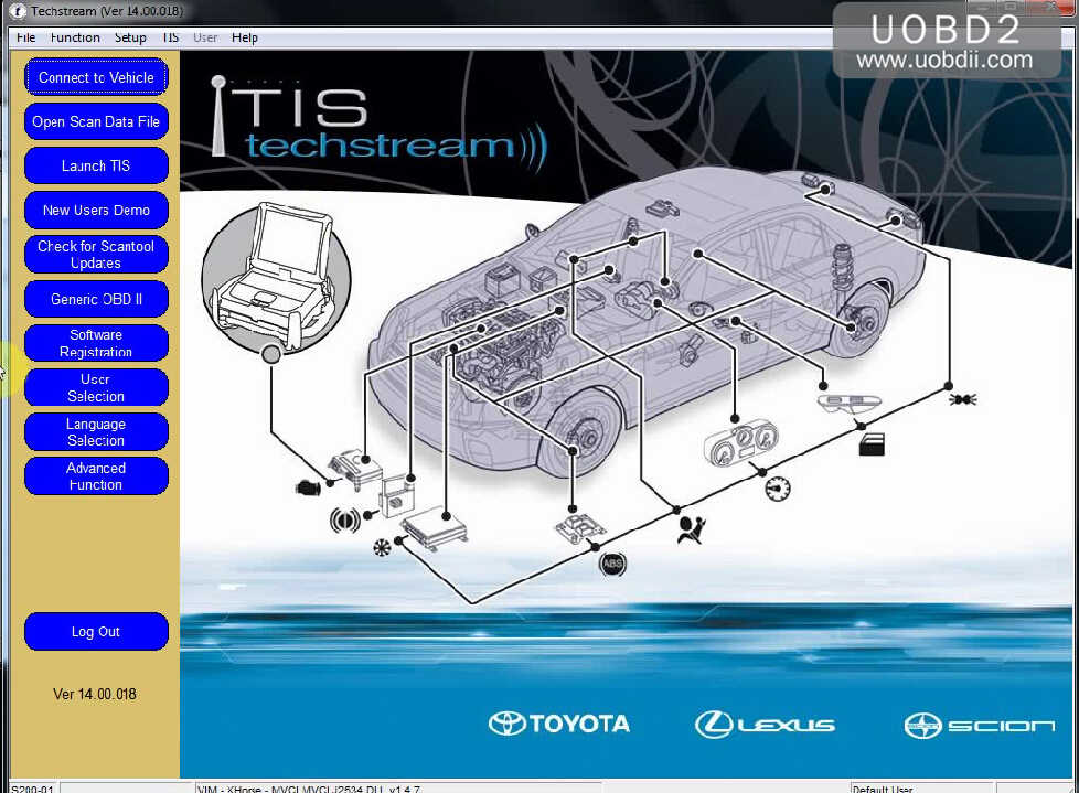 Install Toyota Techstream