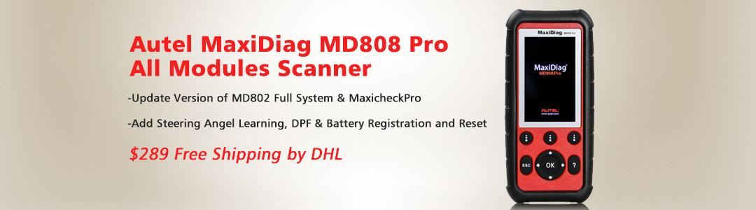 Autel MD808 Pro Scanner