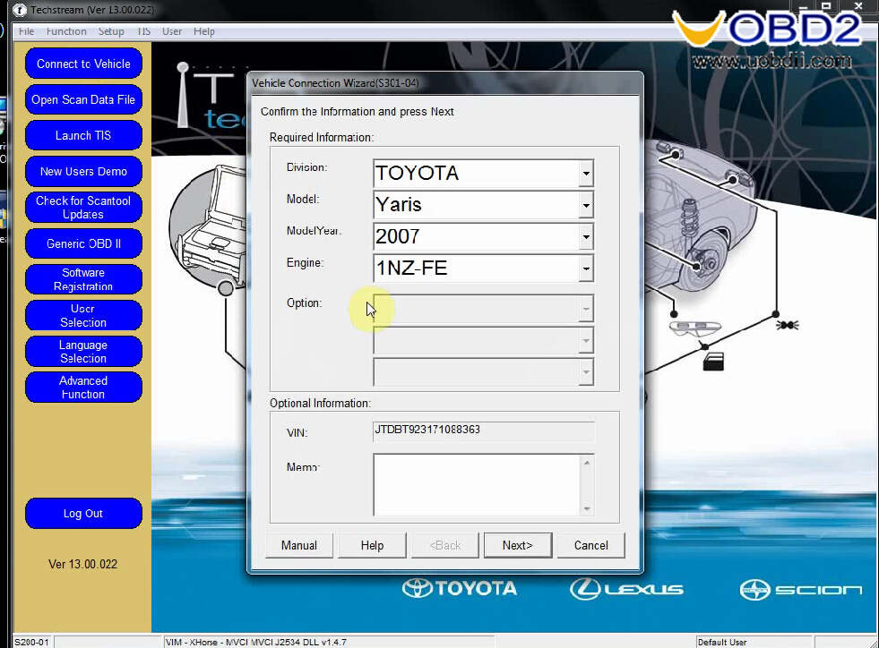 Install Toyota Techstream V13.00.022 on Win7 (15)