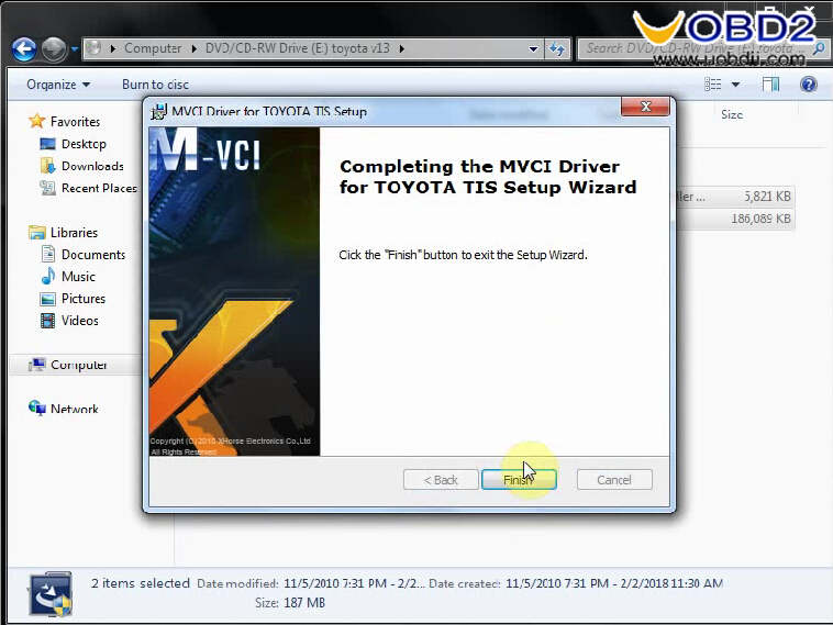 Install Toyota Techstream V13.00.022 on Win7 (8)