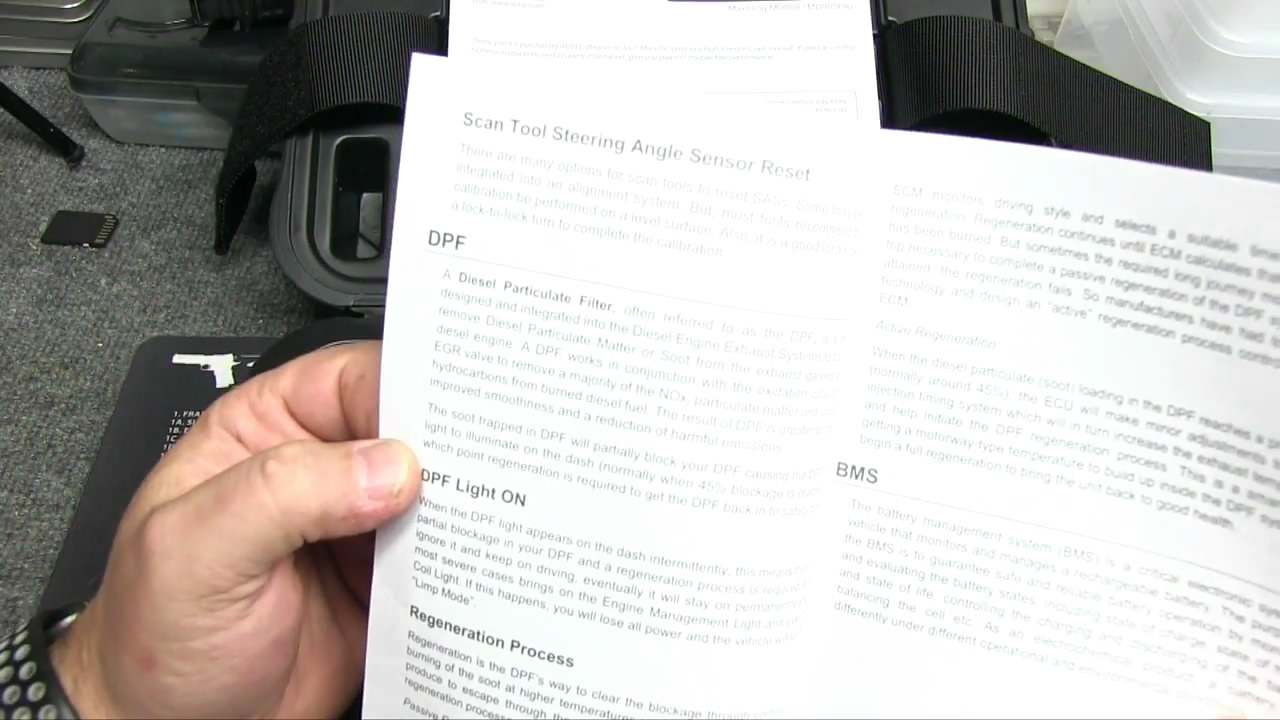 Autel MaxiDiag MD808 Pro review on Chrysler diagnostics, oil reset