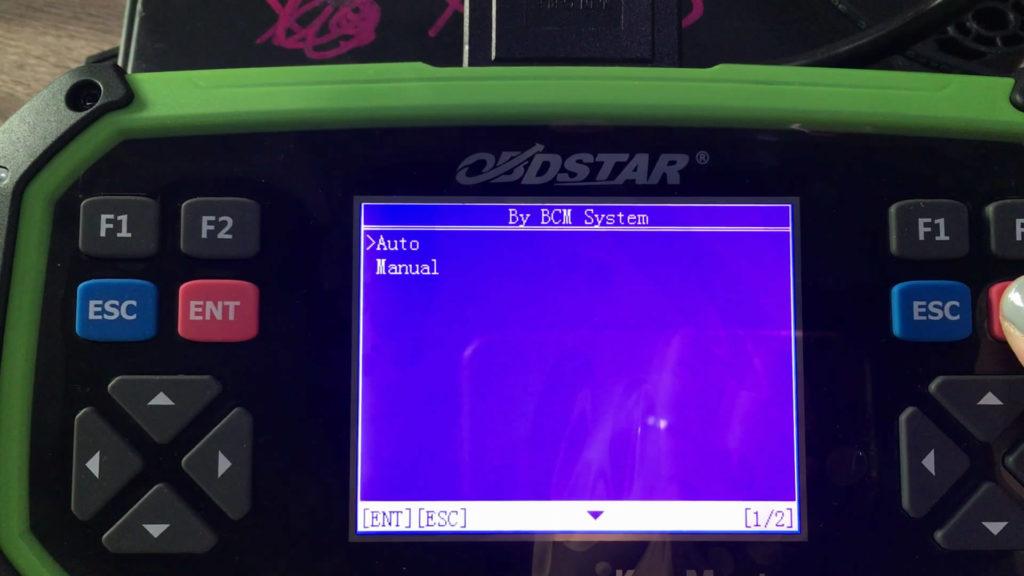 obdstar-x300-pro3-key-master-read-cadillac- ats-bcm-pin-code-12