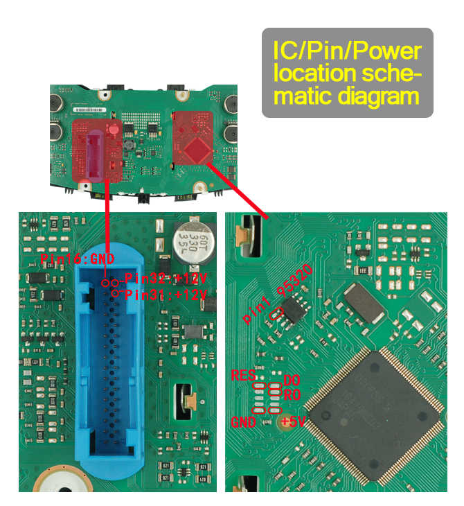 02-ic pin power location schematic diagram