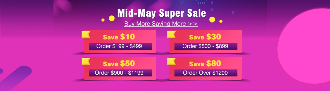 UOBD2 Mid-may Super Sale