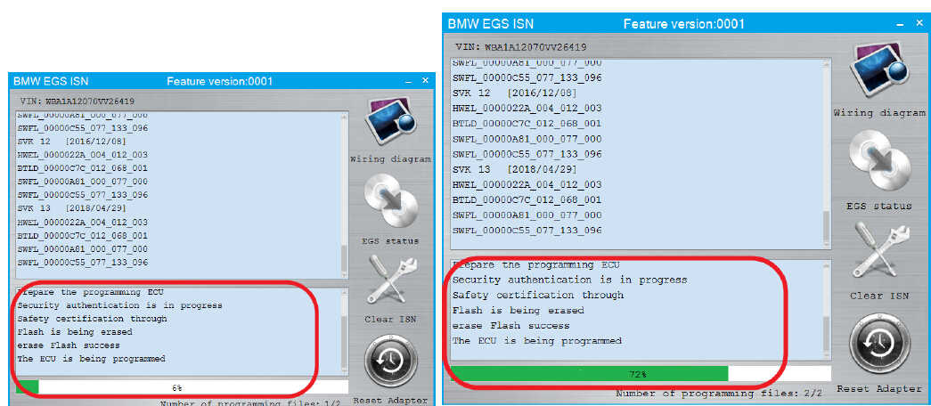 CGDI BMW EGS ISN Clear and Synchronize Guide (6)