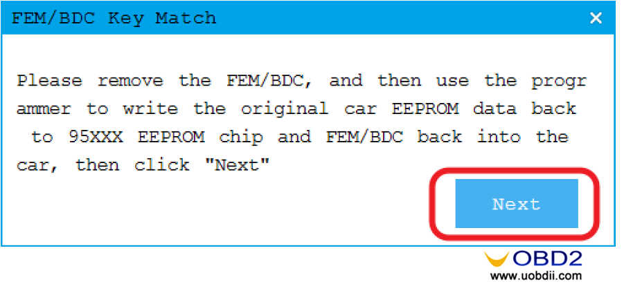 CGDI BMW to Adding & All Keys Lost Programming for BMW FEMBDC Guide (14)