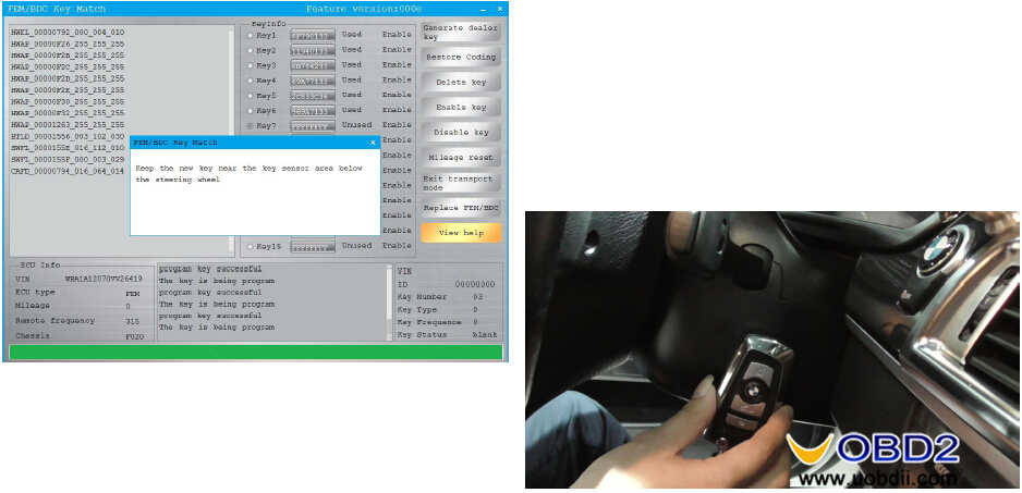 CGDI BMW to Adding & All Keys Lost Programming for BMW FEMBDC Guide (31)