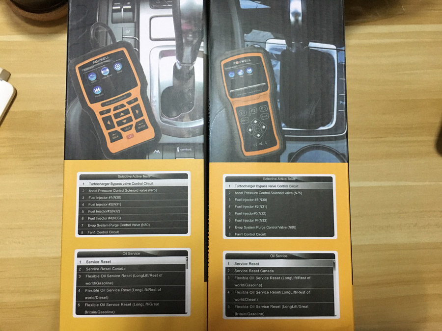 Foxwell Nt520 Pro Vs Nt510 In Coverage Functions