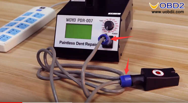How to Use WOYO PDR007 Paintless Dent Repair Tool (10)