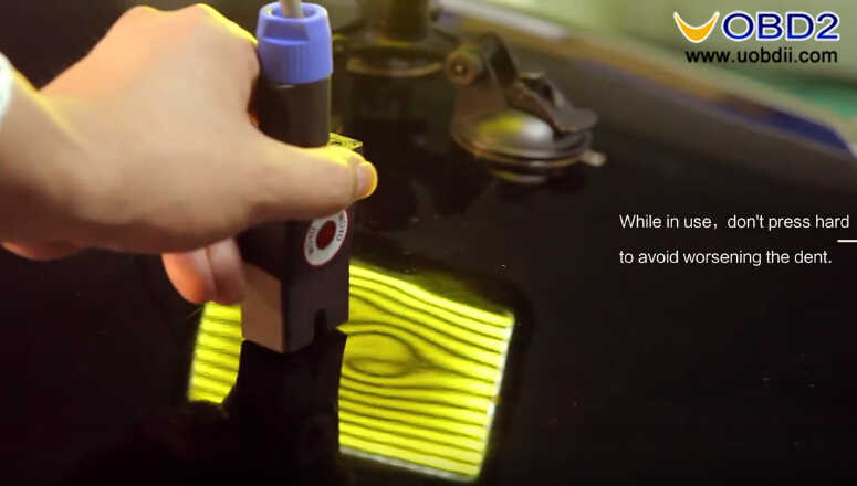 How to Use WOYO PDR007 Paintless Dent Repair Tool (13)