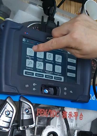 Lonsdor K518 Test on BMW FEMBDC Platform (3)