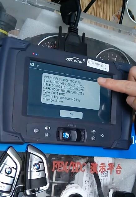 Lonsdor K518 Test on BMW FEMBDC Platform (4)