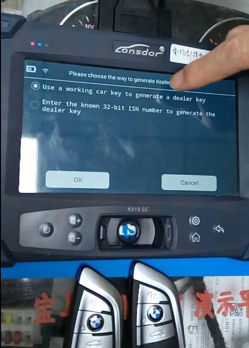 Lonsdor K518 Test on BMW FEMBDC Platform (9)