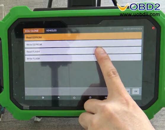 OBDSTAR X300 DP Plus Clone GM Opel Bosch BCM (8)