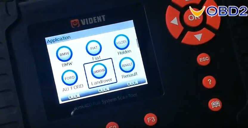 VEDIENT ilink400 Diagnose & Special Functions on Land Rover Freelander 2 (1)