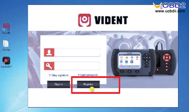 VIDENT iLink400 Software Installation & Registration & Update (2)