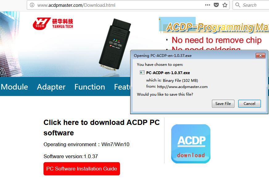 yanhua-acdp-pc-software-03