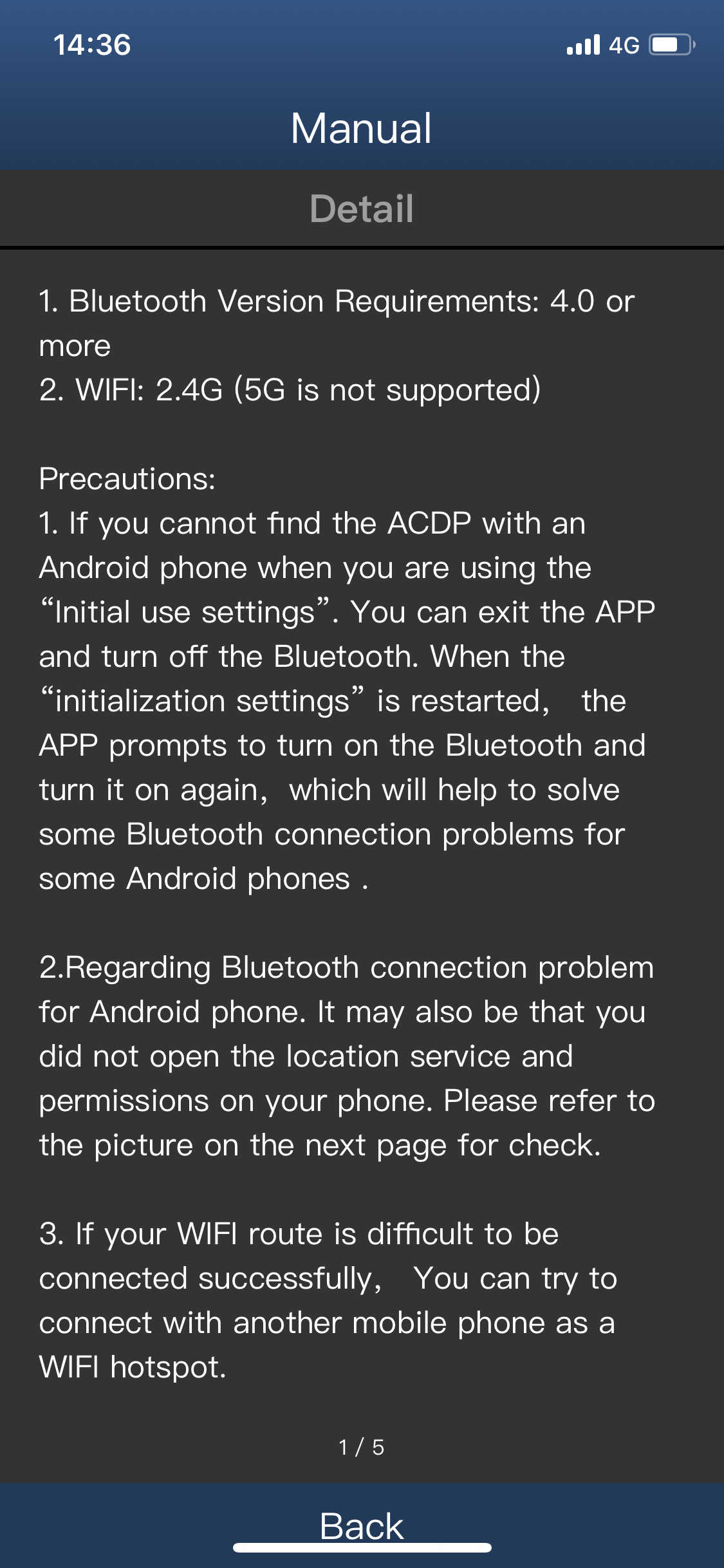 yanhua-acdp-wifi-bluetooth-connection