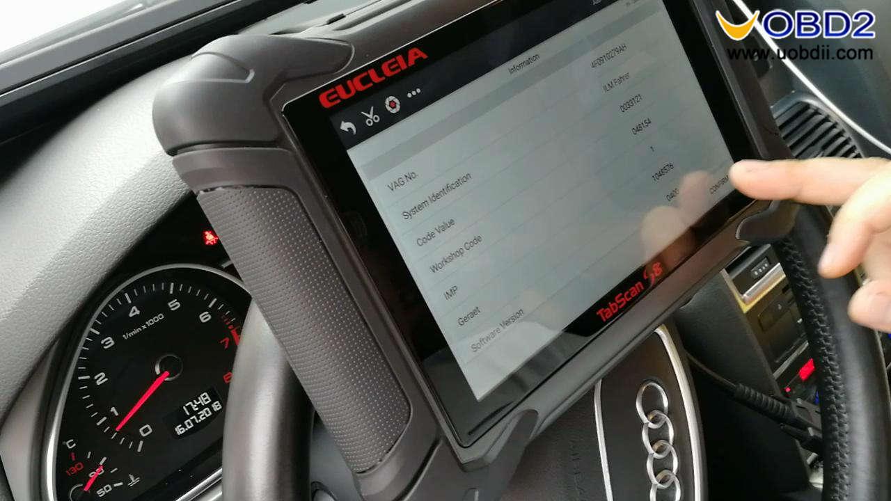 Eucleia Tabscan S8 diagnoses Audi (21)
