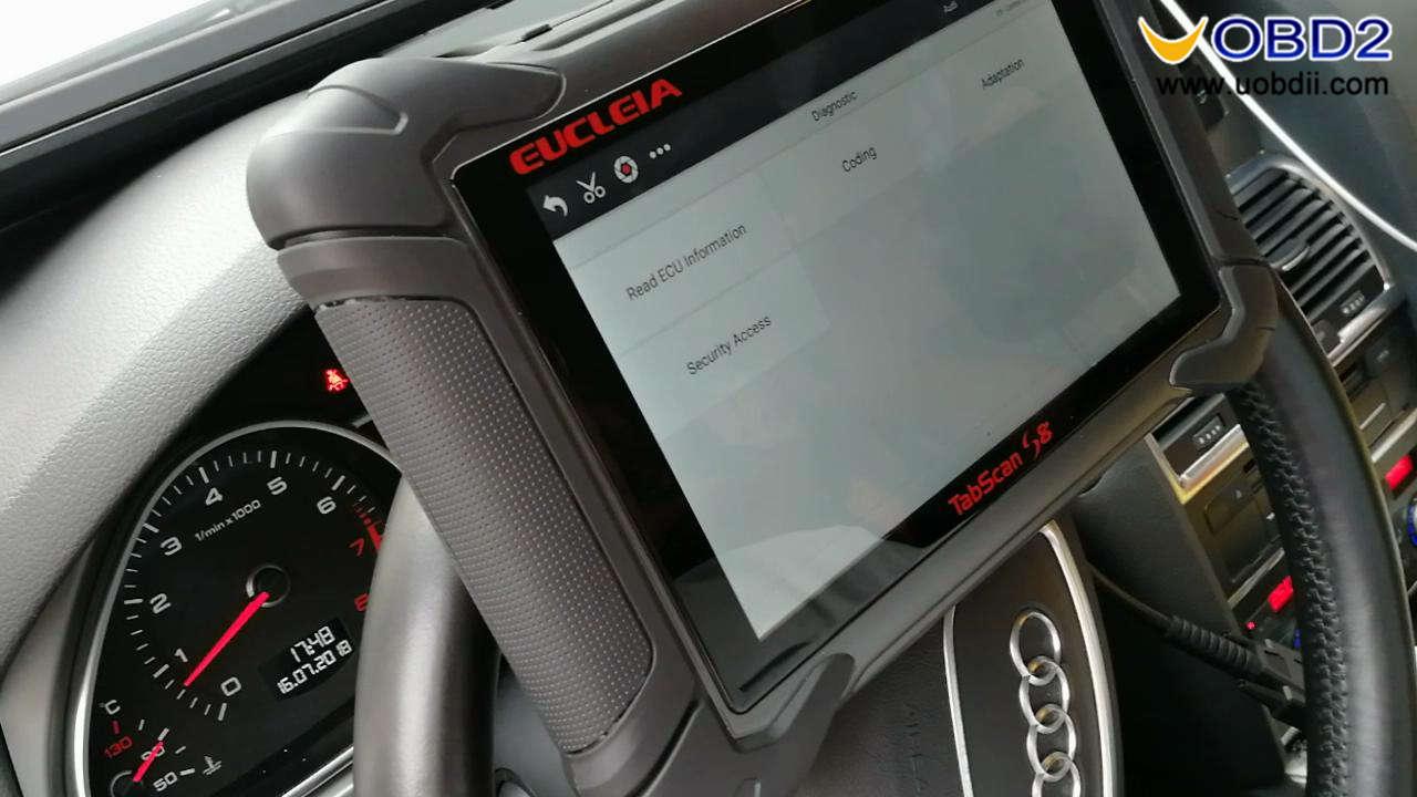 Eucleia Tabscan S8 diagnoses Audi (22)