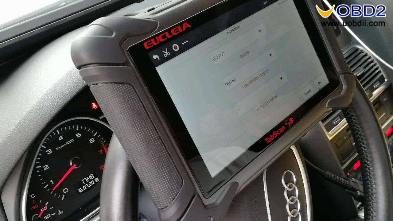 Eucleia Tabscan S8 diagnoses Audi (23)