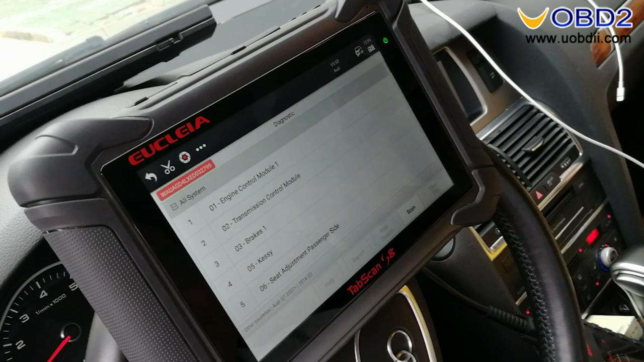 Eucleia Tabscan S8 diagnoses Audi (6)