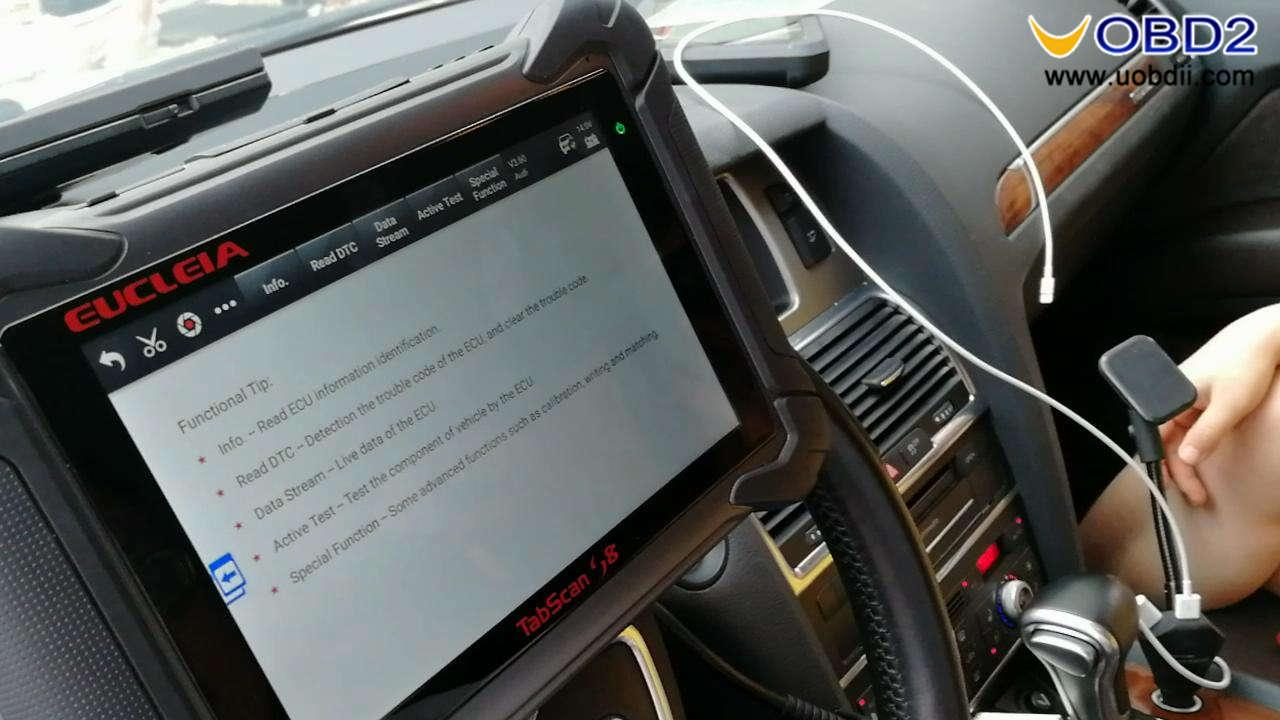Eucleia Tabscan S8 diagnoses Audi (7)