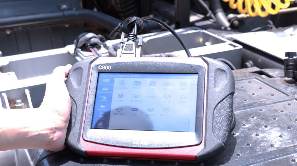 carfans-c800-NOX-sensor-connection-001
