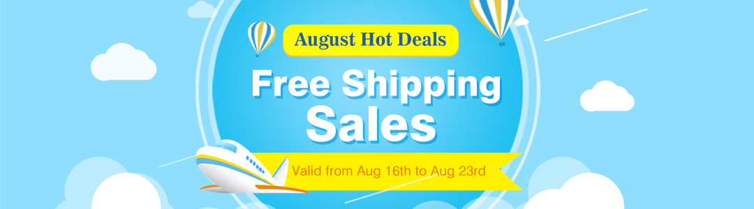 Free Shipping Sales