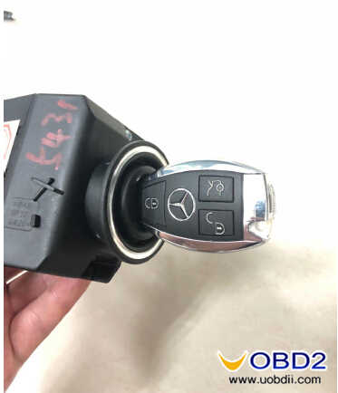 Add New Key for Benz W211 by CGDI MB (34)