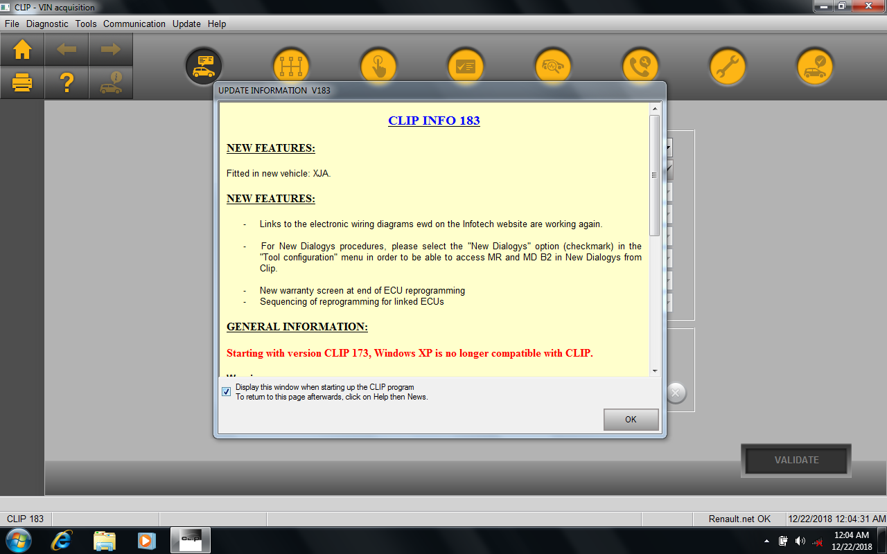 Newest Renault Can Clip V185 Free Download & Install on Win