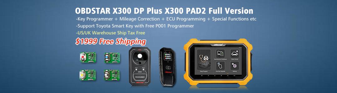 OBDSTAR 300 DP Plus
