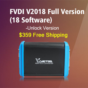 FVDI V2018 Full Version