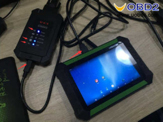How to Solve OBDSTAR X300 DP SN Different from VCI Box (5)
