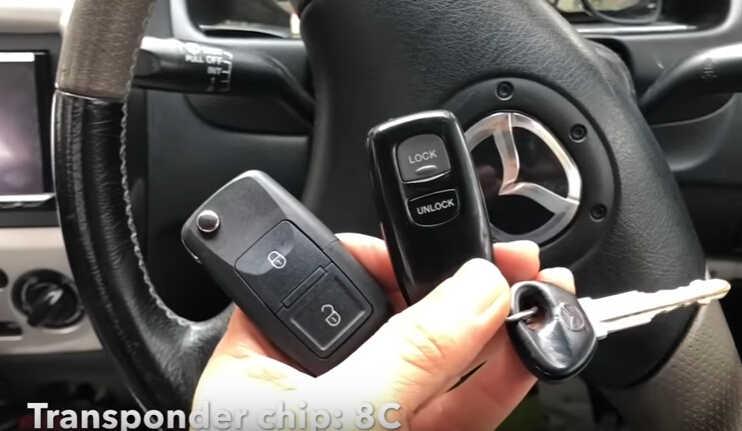 VVDI Key Tool Generate & Program Remote for Mazda 323 Protege (2)