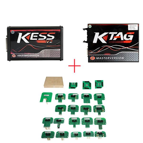Why buy KESS V2 V5 017 + KTAG V7 020 + ECM TITANIUM? UOBDII