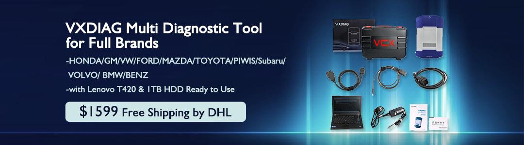 VXDAIG Multidiag Tool