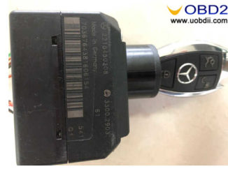 How to Program New Key for Benz W221 by CGDI MB Infrared Function (7)