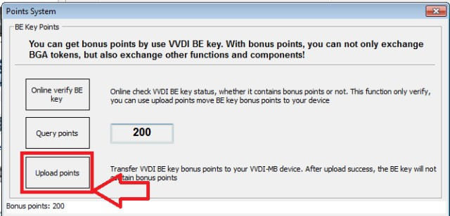 How to download POINTS from MB KEYS (8)
