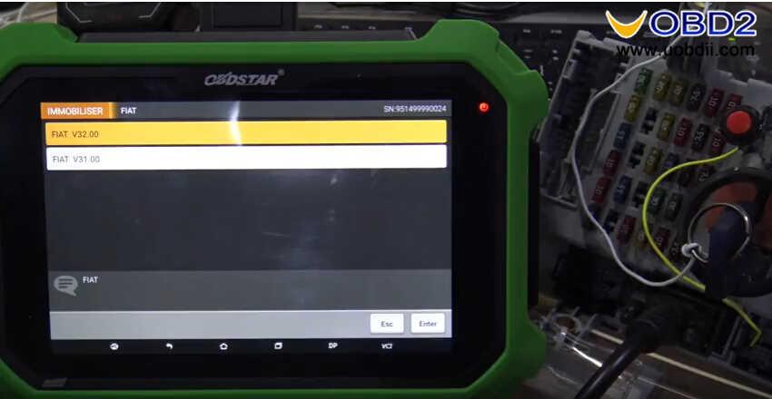 OBDSTAR X300 DP Plus Read PIN Code for Fiat Delphi 93c66 (1)