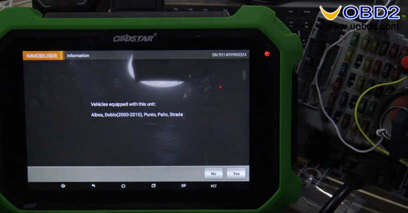 OBDSTAR X300 DP Plus Read PIN Code for Fiat Delphi 93c66 (4)
