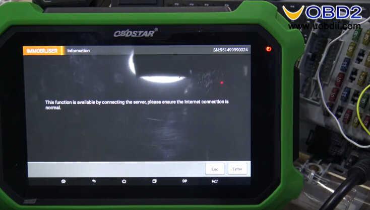 OBDSTAR X300 DP Plus Read PIN Code for Fiat Delphi 93c66 (5)