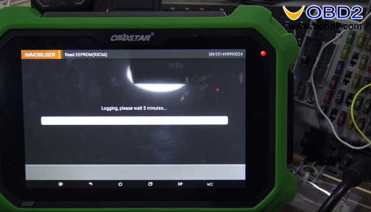 OBDSTAR X300 DP Plus Read PIN Code for Fiat Delphi 93c66 (9)