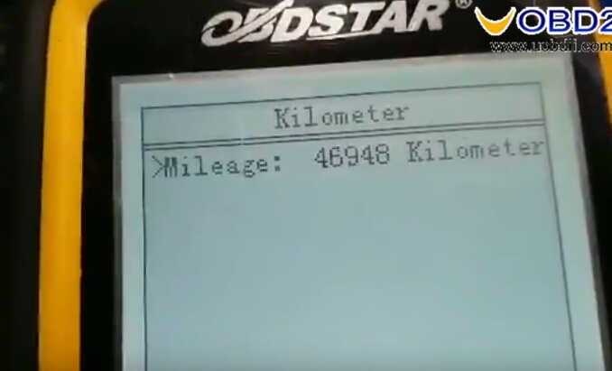 OBDSTAR X300M Test on Hyundai I20 Elite 2017 Odometer Correction (10)