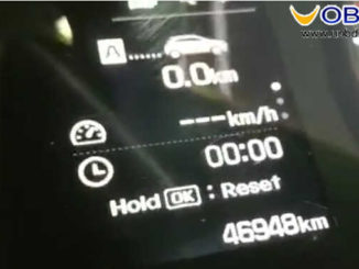 OBDSTAR X300M Test on Hyundai I20 Elite 2017 Odometer Correction (11)