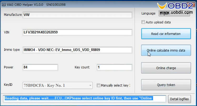 VAG OBD Helper Make VW 4th & 5th IMMO All Key Lost Programming Easily (4)