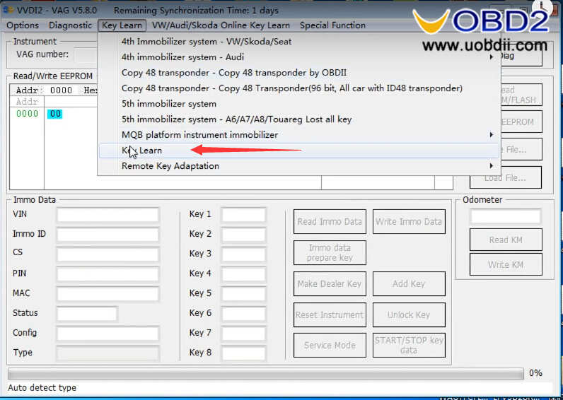 VAG OBD Helper Make VW 4th & 5th IMMO All Key Lost Programming Easily (6)