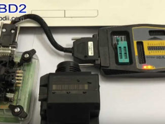 Benz W211 All Key Lost Programming by VVDI Prog and MB Tool (1)